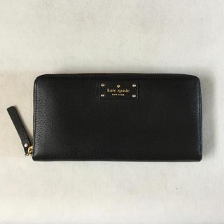 ケイトスペードニューヨーク(kate spade new york)の未使用 ケイトスペード 財布 黒(財布)