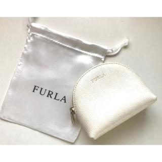 Furla - フルラ★ポーチ 白 化粧ポーチ 小物入れ 保存袋