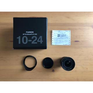 フジフイルム(富士フイルム)のFujifilm XF10-24mm F4 R OIS 保証内 おまけ付 美品(レンズ(ズーム))