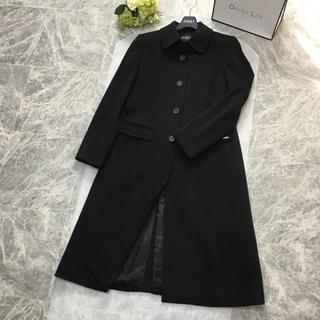 FOXEY - 美品 フォクシー FOXEY カシミヤ100% ロング ブラック コート F