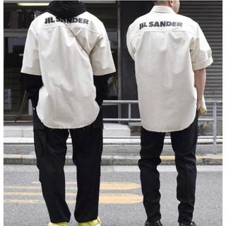 Jil Sander - 完売品 JIL SANDER 20SS ロゴオーバーサイズシャツ