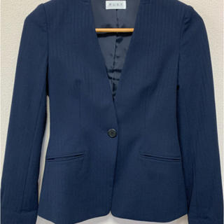 PLST - PLST プラステ 2way ストレッチ濃紺スーツ