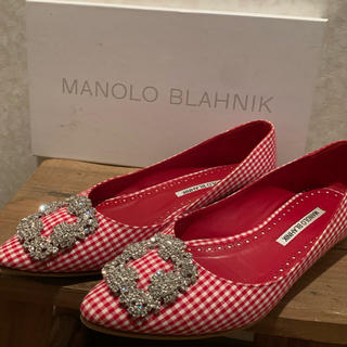 MANOLO BLAHNIK - マノロブラニク Manolo Blahnik ハンギシ 36