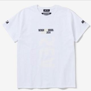 ネイバーフッド(NEIGHBORHOOD)のL Wind And Sea Neighborhood Tee White(Tシャツ/カットソー(半袖/袖なし))