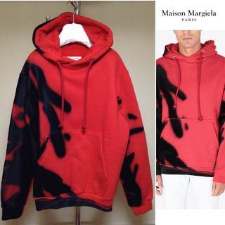 Maison Martin Margiela - 新品■44■定価16.3万■マルジェラ18aw■スプレー柄パーカー■5174