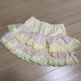 mezzo piano - メゾピアノ✨新品花柄スカート130cm