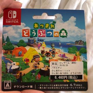 Nintendo Switch - あつまれどうぶつの森 DL版