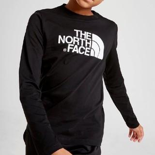 THE NORTH FACE - ノースフェイス ロンT 海外キッズXL