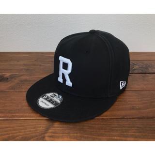 Ron Herman - ロンハーマン ニューエラ ブラック スナップバック Rロゴ キャップ
