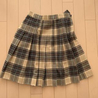 女児150 チェック スカート