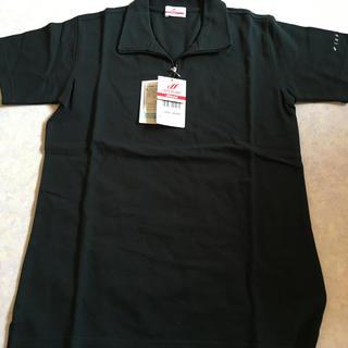 MIZUNO - *ミズノ Mizuno ジップアップ半袖ポロシャツ ブラック M レディース*
