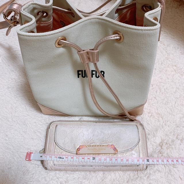 fur fur(ファーファー)のFURFUR キャンバスショルダー巾着バッグ レディースのバッグ(ショルダーバッグ)の商品写真