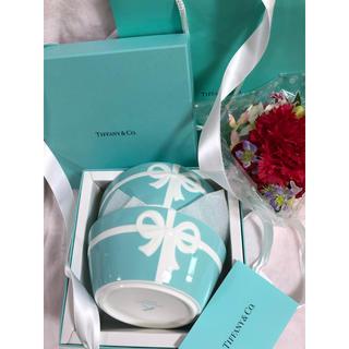 Tiffany & Co. - ティファニー ブルーボックス ボウル2個セット(プレゼント用)