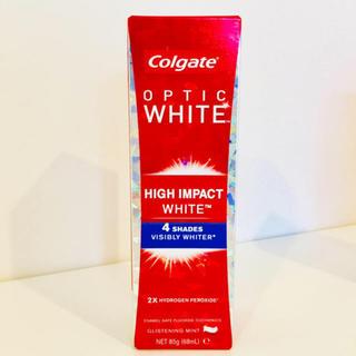 【新品】Colgate歯磨き粉 コルゲート オプテイックホワイト ハイインパクト