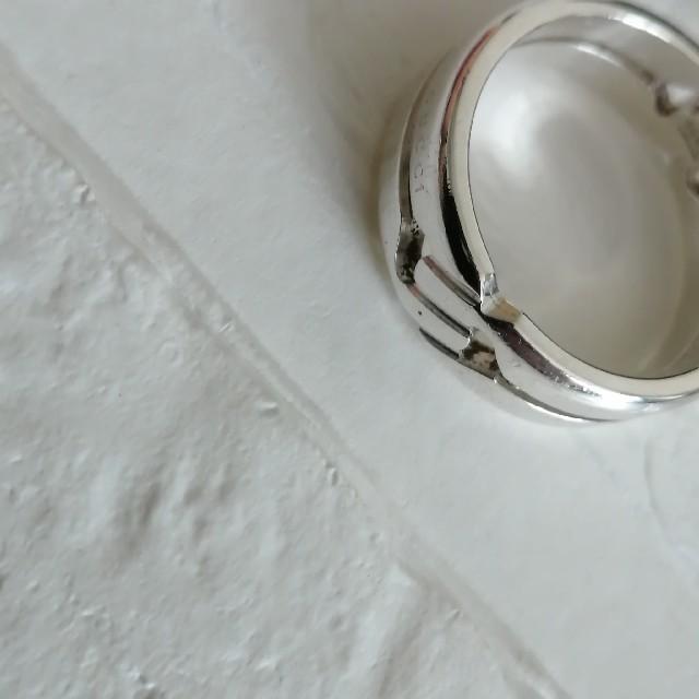 Gucci(グッチ)のグッチ インフィニティ リング メンズのアクセサリー(リング(指輪))の商品写真