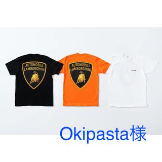 シュプリーム(Supreme)の黒 S サイズ シュプリーム Lamborghini Tee ランボルギーニ(Tシャツ/カットソー(半袖/袖なし))