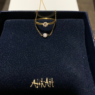 AHKAH - ソルティア ラウンド リング ネックレス  110,000円からお値下げ!