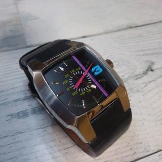 DIESEL - DIESEL ディーゼル腕時計 メンズ&レディース カラフル文字盤 電池交換済