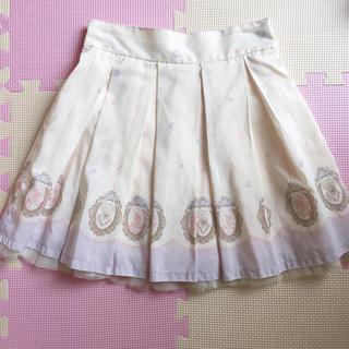 Ank Rouge - アンクルージュ マーメイド柄スカート