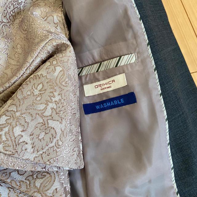 ORIHICA(オリヒカ)のグレーパンツスーツ レディースのフォーマル/ドレス(スーツ)の商品写真