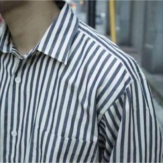 COMOLI - comoli ロンドン ストライプ シャツ サイズ2