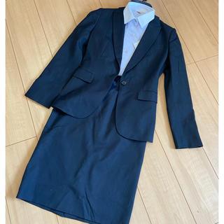 ORIHICA - 濃紺タイトスカートスーツ