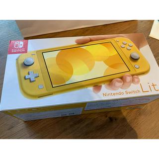 ニンテンドースイッチ(Nintendo Switch)のNintendo Switch Lite イエロー 任天堂 ニンテンドー 新品(家庭用ゲーム機本体)