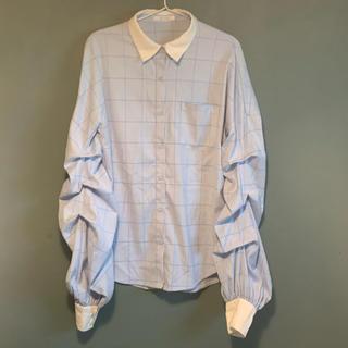 レディアゼル(REDYAZEL)のREDYAZEL クレリックボリューム袖シャツ(シャツ/ブラウス(長袖/七分))