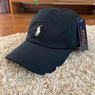 Ralph Lauren - ポロラルフローレン キャップ ブラック 帽子