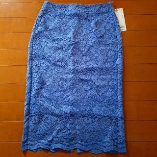 GU - レースタイトスカート GU 新品未使用タグ付き