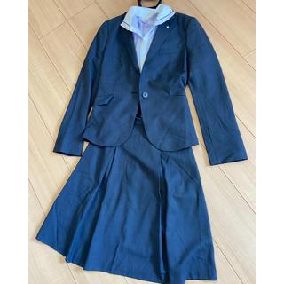 オリヒカ(ORIHICA)のネイビーフレアスカートスーツ(スーツ)