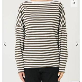 Plage - R'IAM】FEMININE ボーダー Tシャツ