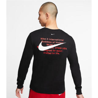 NIKE - Nike ナイキ スポーツ ロンt 長袖 ブラック longwhite