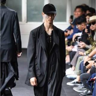 Yohji Yamamoto - 【値下げ可】yohji yamamoto 19ss フラップボタンジャケット