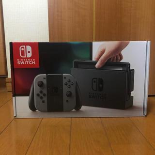 ニンテンドースイッチ(Nintendo Switch)のNintendo switch 本体 旧型 グレー(家庭用ゲーム機本体)