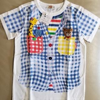 mikihouse - ミキハウス だまし絵半袖Tシャツ120