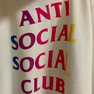アンチ(ANTI)のanti social social club フーディ パーカー 白(パーカー)