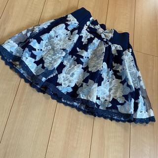 リズリサ(LIZ LISA)のLIZLISA花柄スカート(ミニスカート)