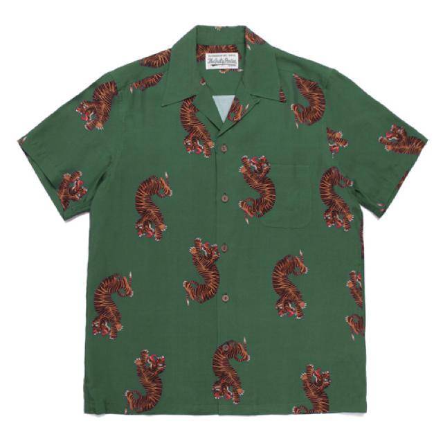 WACKO MARIA(ワコマリア)のwackomaria 虎柄 アロハシャツ Lサイズ メンズのトップス(シャツ)の商品写真
