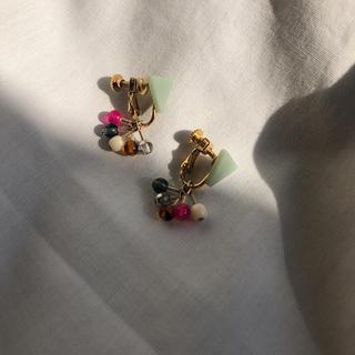 Lochie - mimirazumuika spark beads earrings