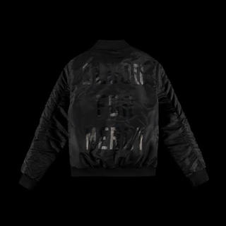 Balenciaga - Blood For Mercy Yellow Claw Ma-1 Bomber