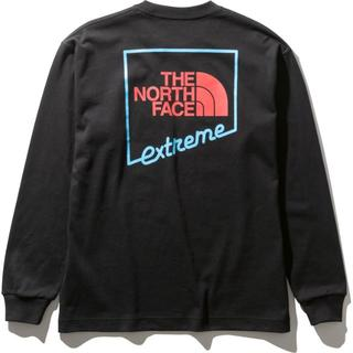 THE NORTH FACE - ロングスリーブエクストリームティー ブラック Lサイズ