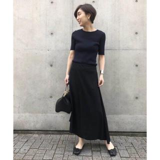 DEUXIEME CLASSE - 未使用 Toteme アシメトリースカート 黒 ドゥーズィエムクラス購入