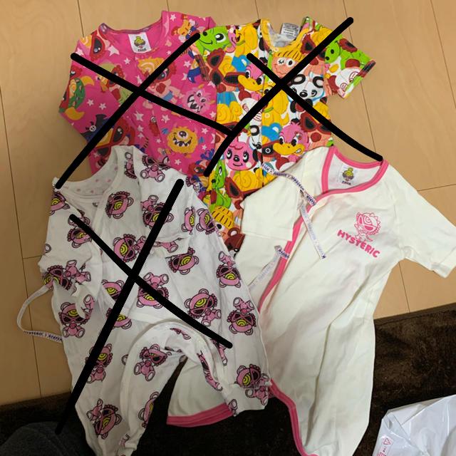HYSTERIC MINI(ヒステリックミニ)のロンパース キッズ/ベビー/マタニティのベビー服(~85cm)(ロンパース)の商品写真