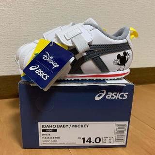 asics - キッズ 【ASICS】 アシックス IDAHO MINI MICKEY 14.0