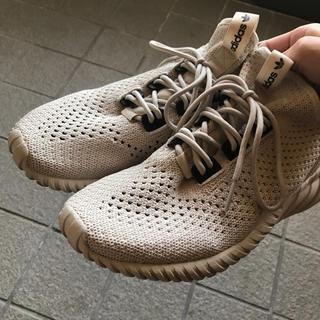 アディダス(adidas)のadidas Tubular Doom Sock PK ベージュ(スニーカー)