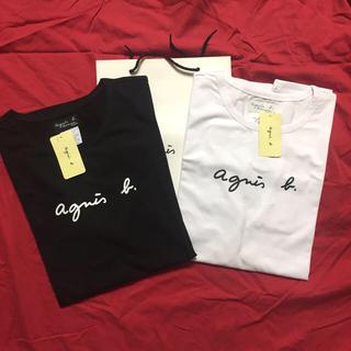 agnes b. - agnesb. 定番M黒白2枚セット アニエス・ベー半袖 Tシャツ