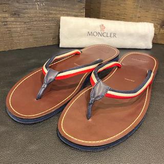 MONCLER - 【⭐️使用ごく僅か⭐️】モンクレール レザーサンダル MADE IN ITALY