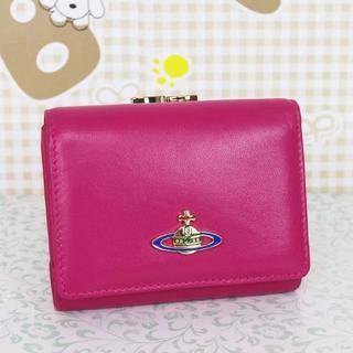 ヴィヴィアンウエストウッド(Vivienne Westwood)の在庫処分!ヴィヴィアンウエストウッド 折財布 がま口財布(財布)