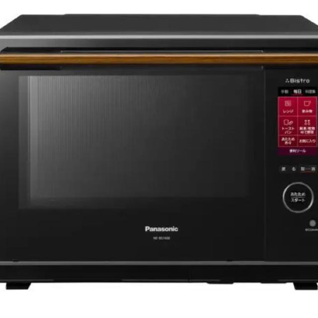 Panasonic(パナソニック)のPanasonic スチームオーブンレンジ NE-BS1600-K  ビストロ スマホ/家電/カメラの調理家電(電子レンジ)の商品写真